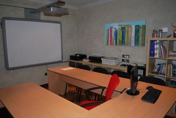 Fotografía del aula 1